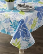 J&M Tropical Bahama Vinyl Tablecloth 60x102 - 1