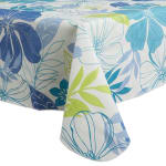 J&M Tropical Bahama Vinyl Tablecloth 60x102 - 3