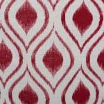 Polyester Storage Bin Ikat Barn Red Rectangle Large 17.5x12x15 - 3
