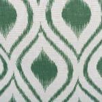 Polyester Storage Bin Ikat Artichoke Round Large 15x16x16 - 4