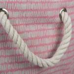 Polyester Storage Bin Keeping Score Pink Sorbet Round Medium 12x15x15 - 5
