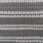 Paper Storage Bin Basketweave Gray/White Round Medium 13.75x13.75x17 - 3