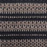 Paper Storage Bin Basketweave Stone/Black Round Large 20x15x15 - 9