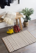 Stone Braided Stripe Rug 50x80cm - 5