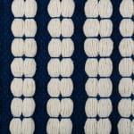 Navy Braided Stripe Rug 50x80cm - 3