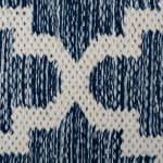 Blue Lattice Hand-Loomed Rug 4x6-ft - 3