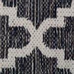 Gray Lattice Hand-Loomed Rug 2x3-ft - 3