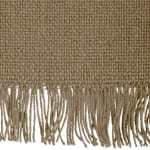 Solid Stone Heavyweight Fringed Table Runner 14x72 - 5