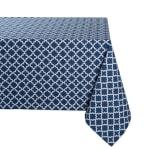 Nautical Blue Lattice Tablecloth 60x120 - 2