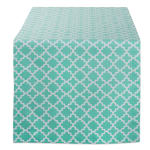 Aqua Lattice Table Runner 14x108 - 2