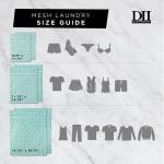 Aqua Lattice Set D Mesh Laundry Bag (Set of 6) - 3
