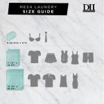 Aqua Lattice Set F Mesh Laundry Bag (Set of 6) - 5