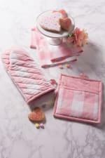 Pink Peony Picnic Dishtowel Set of 2 - 4