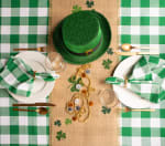 Picnic Plaid Green Cotton Tablecloth 60x104 - 2
