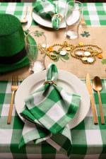 Picnic Plaid Green Cotton Tablecloth 60x104 - 5