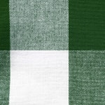 Picnic Plaid Green Cotton Tablecloth 60x104 - 7