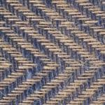 French Blue Chevron Burlap Table Runner 14x108 - 5