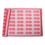 Coral Pineapple Outdoor Rug 4x6-ft - 4