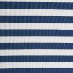 Polyester Cube Pinstripe Nautical Blue Square 13x13x13 - 3