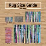 Variegated Artichoke Recycled Yarn Rug 2x3-ft - 5