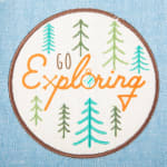 Assorted Go Exploring Dishtowel (Set of 3) - 6