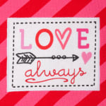 Valentine's Day Sweethearts Tea Towel Set - 4