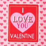 Valentine's Day Sweethearts Tea Towel Set - 5