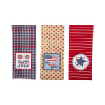 Happy 4th Of July Embroidered Dishtowel (Set of 3) - 6