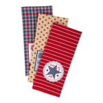 Happy 4th Of July Embroidered Dishtowel (Set of 3) - 5