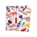 BBQ Fun Print Outdoor Napkin (Set of 6) - 2