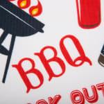 BBQ Fun Print Outdoor Napkin (Set of 6) - 4