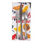 BBQ Fun Print Outdoor Napkin (Set of 6) - 5