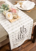 Mr. and Mrs. Table Runner 14x72 - 4