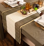 Urban Oasis Reed Table Runner 14x72 - 1