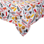 BBQ Fun Print Outdoor Tablecloth 60x84 - 3