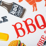 Bbq Fun Print Outdoor Tablecloth With Zipper 60 Round - 4