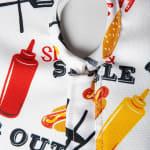 BBQ Fun Print Outdoor Tablecloth With Zipper 60x120 - 5