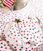 Americana Stars Print Tablecloth 60x104 - 4