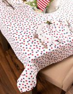 Americana Stars Print Tablecloth 60x84 - 1