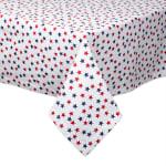 Americana Stars Print Tablecloth 60x84 - 3