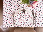 Americana Stars Print Tablecloth 60x84 - 6