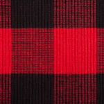 Red Buffalo Check Ribbed Placemat (Set of 6) - 3