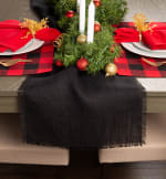 Red Buffalo Check Ribbed Placemat (Set of 6) - 4
