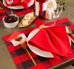 Red Buffalo Check Ribbed Placemat (Set of 6) - 8