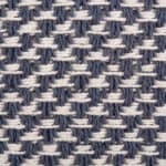 French Blue Woven Table Runner 15x72 - 5