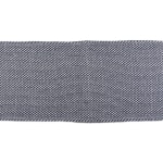 French Blue Woven Table Runner 15x72 - 6