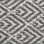 Gray Diamond Table Runner 15x72 - 4