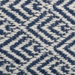 French Blue Diamond Table Runner 15x72 - 4