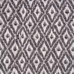 Gray Mini Diamond Table Runner 15x72 - 7