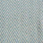 Aqua Chevron Handloom Table Runner 15x72 - 4